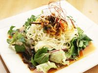 冷やしタンタン麺サラダ